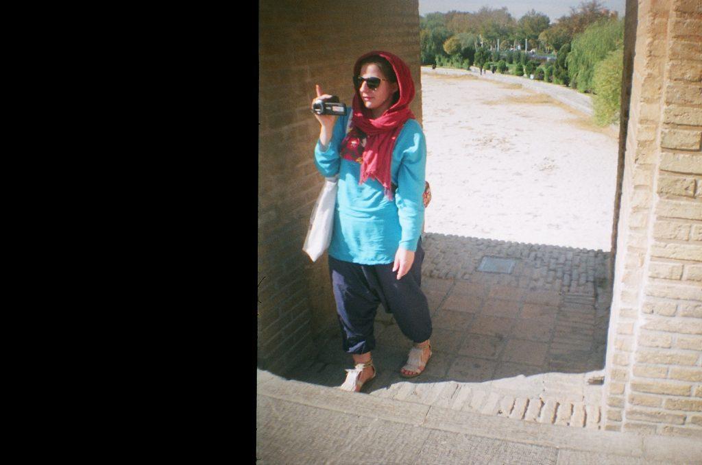 Mój strój w Iranie. Esfahan, fot. M. Kolaszkiewicz