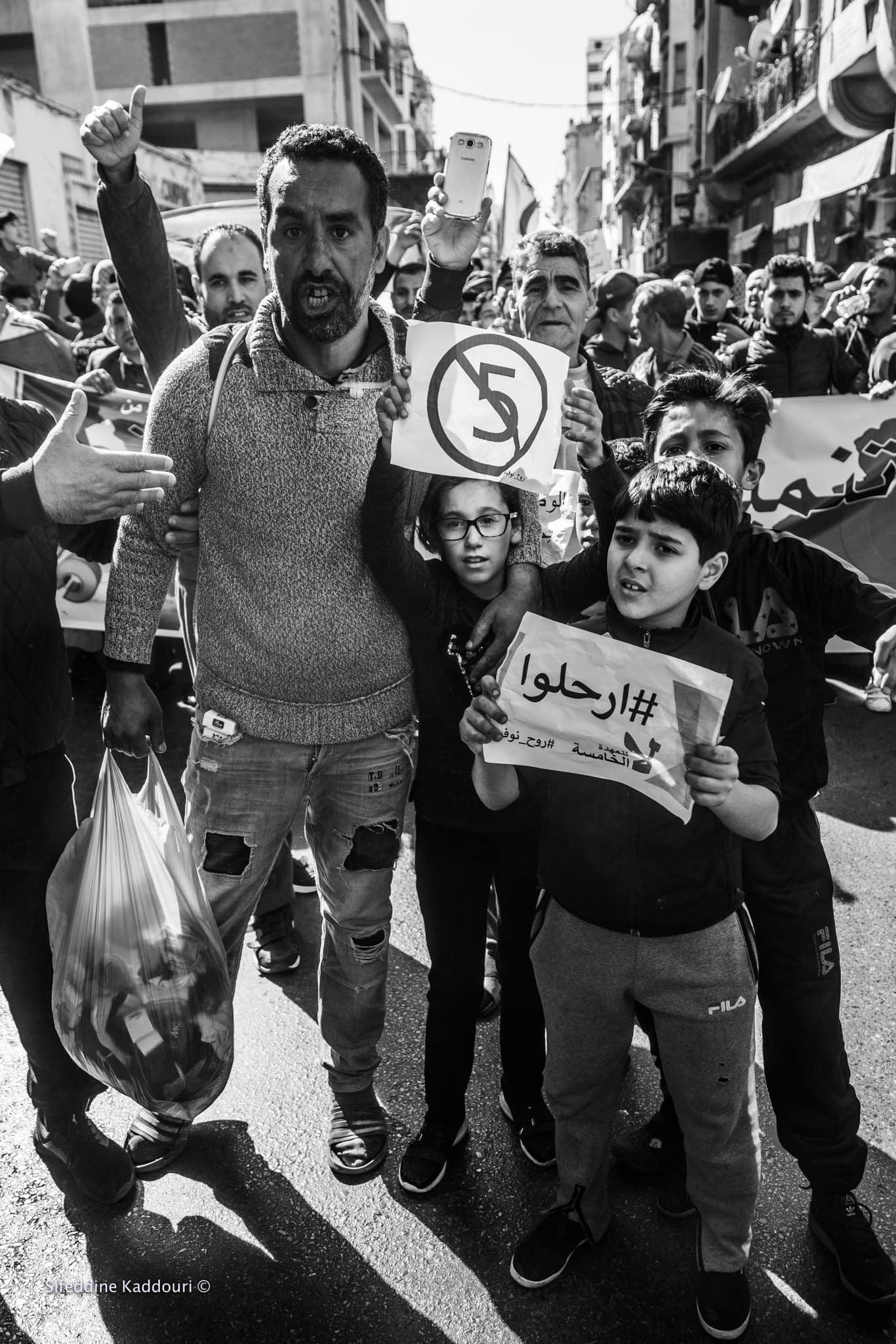 01.03.19 Protesty w Oranie, Algieria